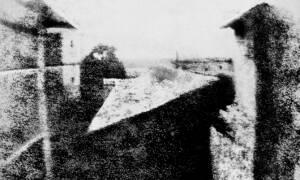 Point de vue du Gras, first photograph by Niépce.