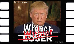 "From his inital loss in the 2016 Iowa Republican primary to winning the nomination and the presidency, Donald Trump has become the ""sorest winner."""