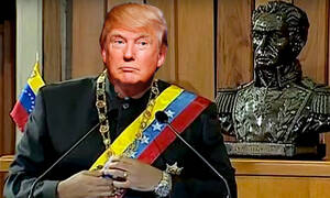 Donald Trump is no Nicholas Maduro, but Trump is a corrupt leader who would clearly would like to be a dictator